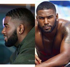 black hairstyles braids for women Black Man, Fine Black Men, Gorgeous Black Men, Handsome Black Men, Fine Men, Beautiful Men, Handsome Man, Black Men Haircuts, Black Men Hairstyles