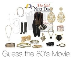 """Guess the 80's Movie"" by laurascandi ❤ liked on Polyvore featuring Sloane & Tate, DNY, Wallis, Chloe + Isabel, Chloé, women's clothing, women, female, woman and misses"