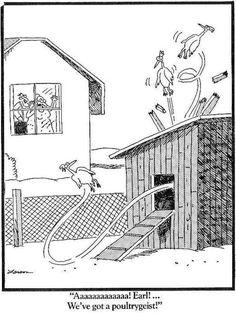We've got a poultrygeist!