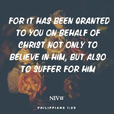 NIV Verse of the Day: Philippians Bible Encouragement, Bible Verses Quotes, Bible Scriptures, Faith Quotes, Bible Book, Bible Verse Search, 1 Verse, I Miss You Quotes For Him, Powerful Scriptures