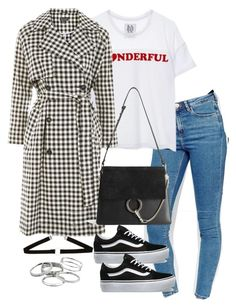 """Untitled #3849"" by theeuropeancloset on Polyvore featuring ASOS, Zoe Karssen, Topshop, Chloé, Vans and Kendra Scott"