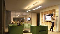 As soluções com LEDs são muito apropriadas para estabelecimentos comerciais. O LED proporciona uma variedade de efeitos.