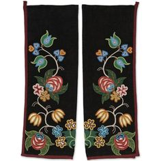 metis traditional leggings - Google Search. Date unknown. Native Beading Patterns, Native Beadwork, Native American Beadwork, Native American Clothing, Native American Design, Beading Projects, Beading Ideas, Wool Applique Quilts, Beaded Moccasins