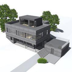 Bilderesultat for funkis med takterrasse Flat Roof, Outdoor Furniture Sets, Outdoor Decor, Sun Lounger, Minimalist, Design, Home Decor, Modern, Chaise Longue