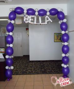 #balloonarch #linkaloon #bella #balloons