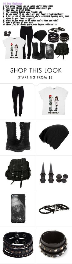 """""""Back To School"""" by nicola-882 ❤ liked on Polyvore featuring Helmut Lang, BC Footwear, AllSaints, Erickson Beamon, Replay and Valentino"""