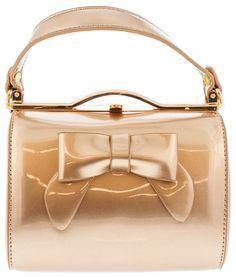 MONIQUE CHIC ROSE GOLD MINI WOMEN'S HANDBAG ONLY $15.88