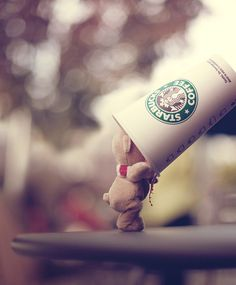 StarbucksTeddy <3 #cutee