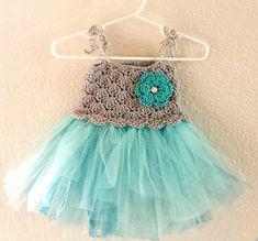 Ravelry: Crochet Baby Tutu Dress pattern by Sweet Love Boutique