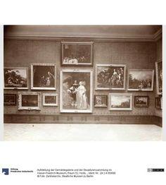 Aufstellung der Gemäldegalerie und der Skulpturensammlung im Kaiser-Friedrich-Museum, Raum 52, Holländische Gemälde des 17. Jhd.