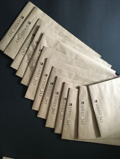 Крафт пакеты с нанесением логотипа от Фабрики Лаб для Lovely24.7