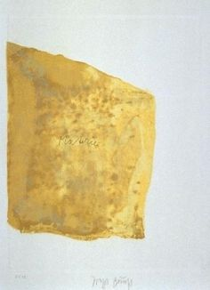 Joseph Beuys 'Materie', 1980. Etching, aquatint and lithography on Arches France.