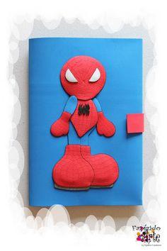 Fazendo Arte by Ágatha Kozakevic - Capa Decorada - Homem Aranha