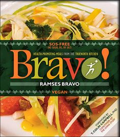 Get control of high blood pressure, cholesterol, diabetes and loos weight with the recipes in this Bravo Cookbook. Buy your copy now... http://www.veggiesensations.com/products/bravo-vegan-cookbook