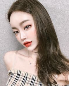 Asian Makeup, Korean Makeup, Korean Face, Korean Girl, Aesthetic People, Angel Aesthetic, Uzzlang Girl, Hair 2018, Without Makeup