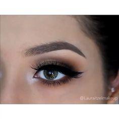 Beautiful eye makeup @lauraitzelmakeup  #hudabeauty