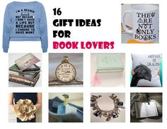 16 ideas de Presentes para Amantes de Livros/ 16 Gift Ideas For Book Lovers
