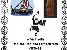 Leif Eriksson Day is October * There are different spellings for his name. Studying the Vikings? Looking for a Reader's Theater Script in Social Studi. Primary History, Teaching History, Teaching Resources, Comprehension Questions, Reading Comprehension, Erik The Red, George Washington Carver, Katherine Johnson, Tuskegee Airmen