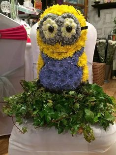 Dave the Minion by Devinnia at Fiesta Flowers