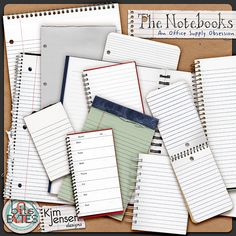 the notebooks