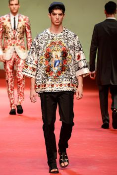 Dolce & Gabbana Spring 2015 Menswear - Collection - Gallery - Style.com