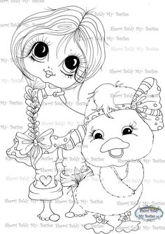 Sherri Baldy Digi Stamps    Here are some of the NEW digis I sneak peeked last night coming out from My Fashion Dollie Lil Ragamuffins ...They are designed from my Original line of clothing that I designed a little fairy girls line of clothing I design for....XOXO    ******Have fun crafting******    This is for the black and white line art digi stamp only.    You may use the images to create and sell handmade/colored cards and projects; please give credit to *Sherri Baldy* for the image…