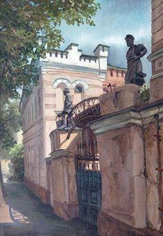 Парошин Владимир. На Софийской набережной