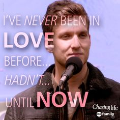 Leo discovered love! | Chasing Life Quotes
