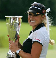 Regular customers of Vegas MGM Resorts in M Life Benefits will get star power on the links with LPGA star Natalie Gulbis & PGA vet Nick Watney on their team. Natalie Gulbis, Womens Golf Wear, Womens Golf Shirts, Sexy Golf, Lpga Players, Golf Images, Lpga Tour, Golf Tips For Beginners, Hole In One