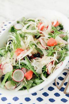 Recipe: Pummelo, Fennel & Radish Salad — 5 Hanukkah Recipes from Amelia Saltsman   The Kitchn