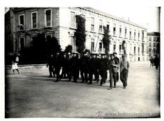 Fotografía antigua: MURCIA, MARINEROS ALEMANES VISITANDO LA CIUDAD 1.929 Malecon- Foto 1 - 37048288