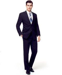Calvin Klein Wool Slim-Fit Suit Separates