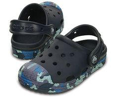 0f6c3afc5b07a3 Kids get all the comfort and simplicity of a Crocs clog with the look of  vintage
