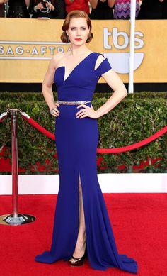 Amy Adams in Antonio Berardi....At the 20th Annual Screen Actors Guild Awards, January 2014