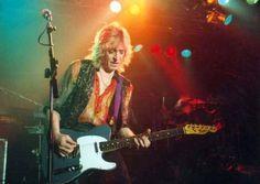 famous telecasters   Mick Ronson (David Bowie)