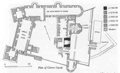Carew Castle Wales