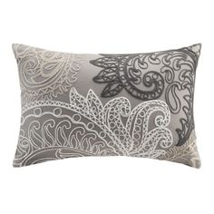 Ink+Ivy Kiran Embroidered Oblong Cotton Throw Pillow - Overstock Shopping - Great Deals on Ink and Ivy Throw Pillows
