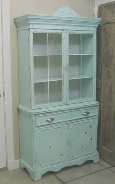 I am on a quest for the perfect, painted, china cabinet....I love this one but it's sold.