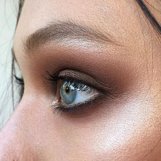 MAC eyeshadows in Saddle, Soft Brown and Espresso | My go-to shadow look!