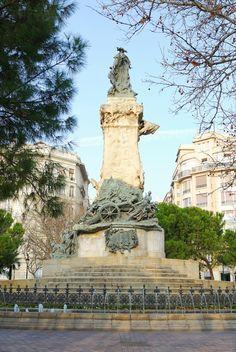 Efe22 - Monumento a los Sitios, Zaragoza