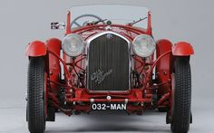 1932 Alfa Romeo 8C-2300 Long Chassis Touring Spider