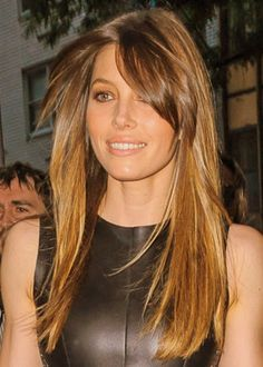 20 Side Bang Hairstyles | herinterest.com