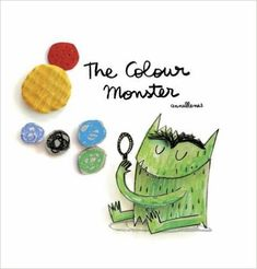 The Colour Monster by Anna Llenas Teaching Posters, Teaching Art, Teaching English, Teaching Ideas, Teaching Resources, Colors And Emotions, My Emotions, Feelings, Monster Book Of Monsters