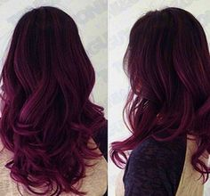 Purplish tint with red