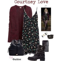 Look 161 - Courtney Love style by style-guides. Retro Outfits, Grunge Outfits, Grunge Fashion, 90s Fashion, Love Fashion, Cool Outfits, Casual Outfits, Fashion Outfits, Womens Fashion
