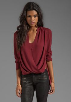 not this color, but I like the blouse