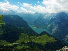 Lake Königssee, Berchtesgaden National Park, Germany.
