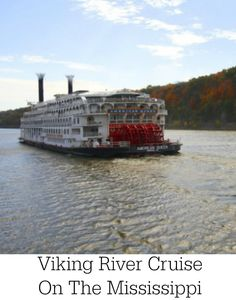 Check out the new Viking River Cruise On The Mississippi!  There are new features and amenities added to the new cruise line.  Be sure to check out this unique river cruise!