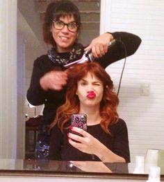 El extremo cambio de look de Celeste Cid... ¡COLORADA! | Fashion TV