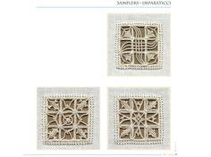 Reticello Embroidery from 'Fior di reticello' (Reticella 2) by Giuliana Buonpadre (Q-5-pag-61)